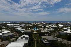 Aerial View from Beach Bike Way Looking Seaward