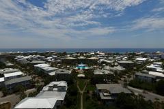 Aerial View from Beach Bike Way Looking Seaward
